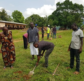 Africa Centre For Education And Community Development constructs an Ultra-modern E-Learning Centre at Apesokubi D/A JHS